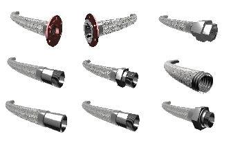 mangueras metálicas para tuberías y sistemas de fluidos