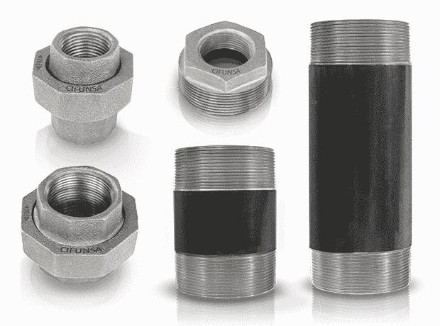 bridas y niples para tuberías y sistemas de fluidos