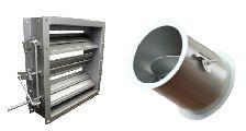 dampers personalizados para tuberías y sistemas de fluidos