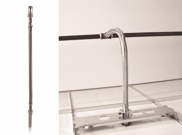 Conexiones flexibles de tuberías