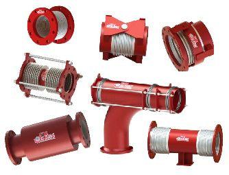 Juntas de expansión metálicas para tuberías de fluidos