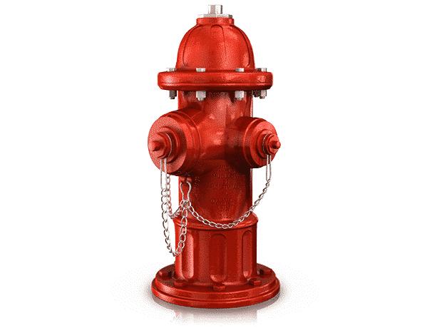 Hidrantes antiincendios para sistemas de fluidos