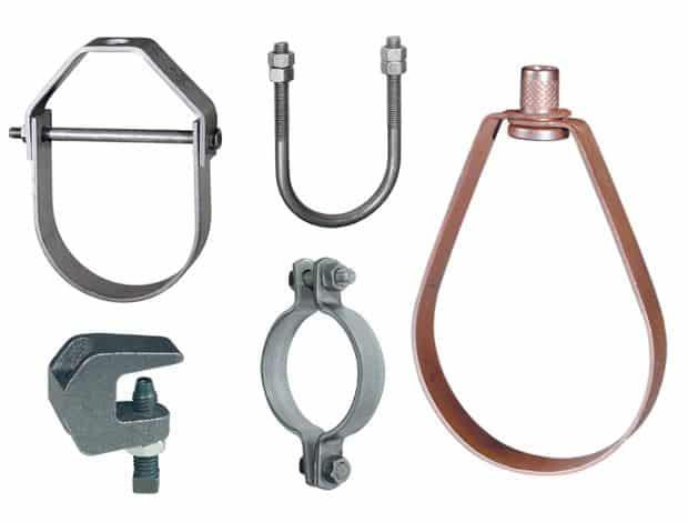 soporteria para tubos de fluidos industriales