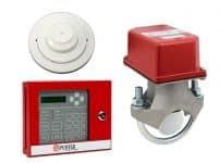 monitores de control para incendios